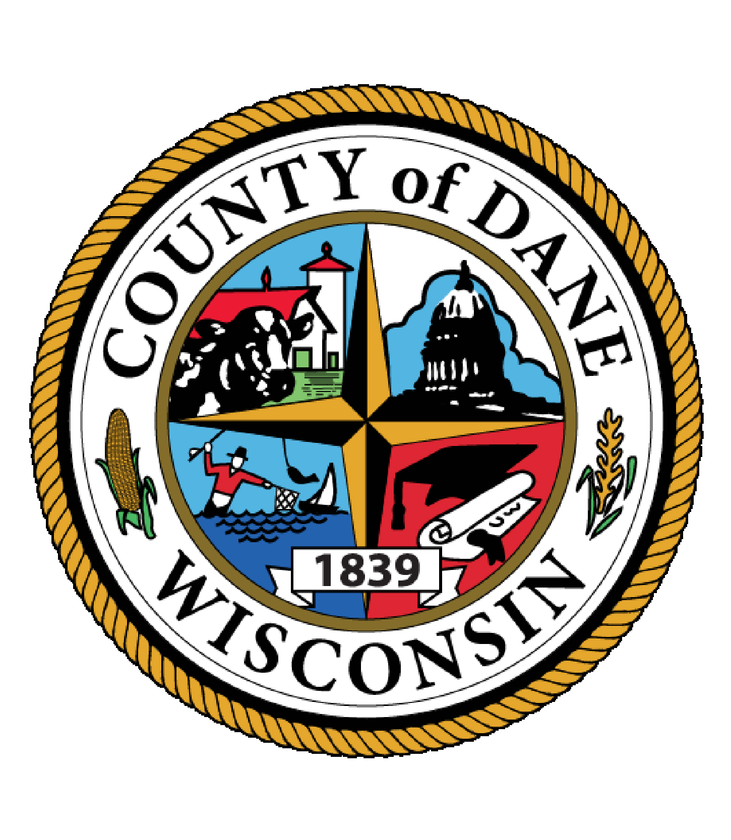 The Dane County Seal